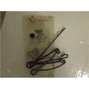 MAYTAG WHIRLPOOL WASHER 350906 SPRING SNUBBER KIT NEW