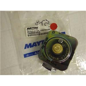 MAYTAG WHIRLPOOL STOVE 74006983 PRESSURE REGULATOR NEW