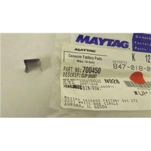 MAYTAG WHIRLPOOL STOVE 700450 SHUNT CLIP NEW