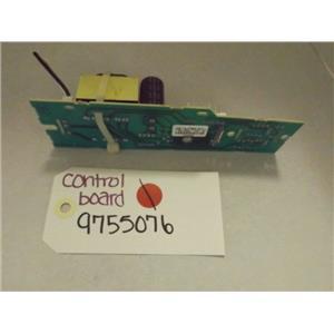 WHIRLPOOL STOVE 9755076 CONTROL BOARD USED