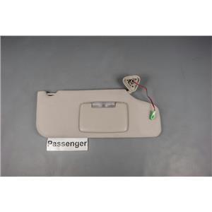 2008 Ford Taurus Sun Visor - Passenger Side w/ Lighted Mirror & Adjustable Arm