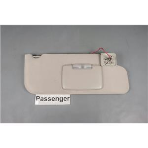 2007-2010 Ford Edge MKX Passenger Side Sun Visor with Lighted Mirror Adjust Bar