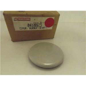 MAYTAG WHIRLPOOL STOVE 04100623 BURNER COVER A (WHITE) NEW
