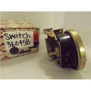 FSP WHIRLPOOL WASHER 360458 SWITCH NEW