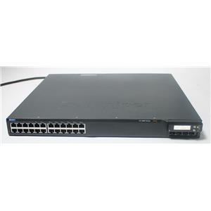 Juniper EX4200-24T EX 4200, 24-port Gigabit Switch (8-ports PoE) w/ 320W AC