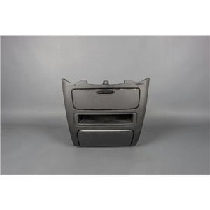 2006-2010 Kia Optima Dash 3 Storage Compartment Bezel w/ 12V Outlet Ashtray