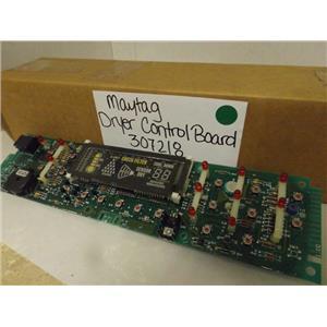 MAYTAG WHIRLPOOL DRYER 307218 CONTROL BOARD NEW