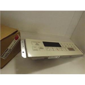 MAYTAG WHIRLPOOL STOVE 74008136 CLOCK W/ OVERLAY (BSQ) NEW