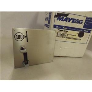 MAYTAG WHIRLPOOL WASHER 22003041 COIN DROP  NEW