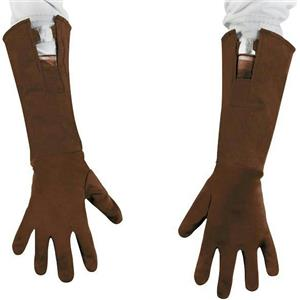 The First Avenger Captain America Movie Brown Child Gloves 28669