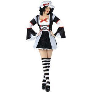Rag Darlin' Sexy Women's Rag Doll Adult Costume Size S/M 2-8