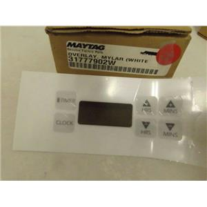 MAYTAG WHIRLPOOL AMANA STOVE 31777902W OVERLAY (WHT) NEW
