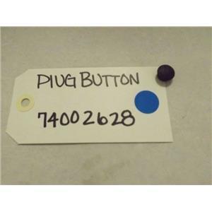 WHIRLPOOL AMANA REFRIGERATOR 74002628 PLUG BUTTON NEW