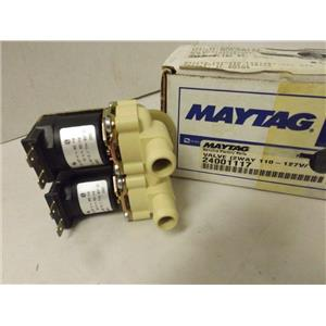 MAYTAG WHIRLPOOL WASHER 24001117 VALVE (2WAY) NEW