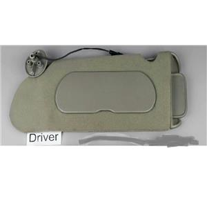 2000-2004 Buick LeSabre Driver side Sun Visor with Covered Lighted Mirror