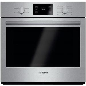 """Bosch 500 30"""" 4.6 Convectional Thermal Single Electric Wall Oven HBL5351UC EXNLT"""