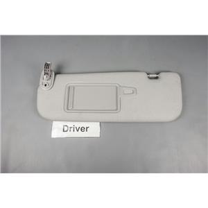 2013 Hyundai Elantra Sun Visor - Driver Side with Covered Mirror . ekusparts 63e7ad026b8