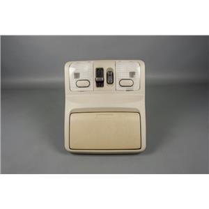 2002-2004 Infiniti I35 Overhead Console Map Lights 4 Pin Sunroof Switch Storage