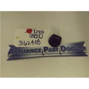 KENMORE STOVE 3162408 KNOB (BLACK) USED