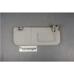 09 10 Vibe 09 10 11 12 13 Corolla Passenger Side Sun Visor with Covered Mirror