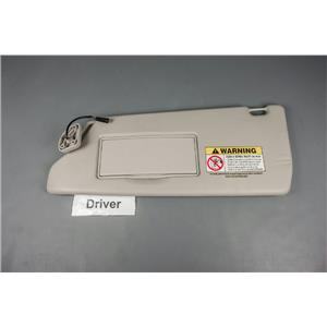 2001 Land Rover Discovery Passenger Side Sun Visor with Covered Mirror