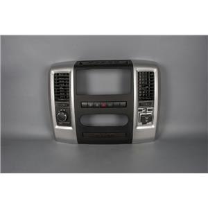 2010-2012 Dodge Ram 1500 Radio Climate Dash Trim Bezel with 4WD Tow/Haul Switch