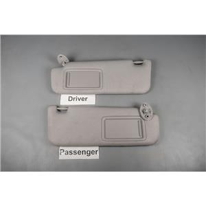 2012-2017 Toyota Camry Sun Visor Set with Covered Mirrors and Extension Panels