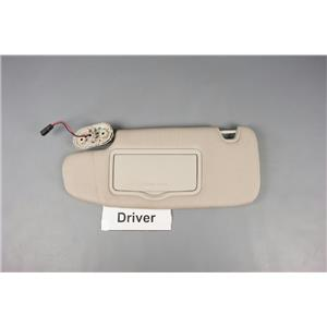 07-12 Fusion MKZ Milan Driver Side Sun Visor with Lighted Mirror and Homelink