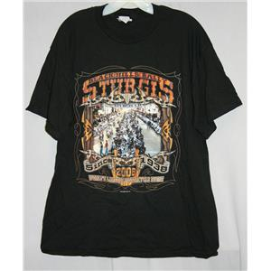 Sturgis Black Hills Rally World's Largest Motorcycle Event 2006 T-Shirt Large