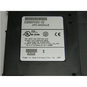 Used: GE Fanuc CPU Module IC693CPU3310-CD From Millipore K-Prime III