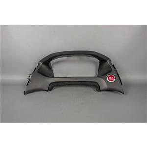 2014 Honda Civic Speedometer Cluster Dash Bezel with Engine Start/Stop Switch