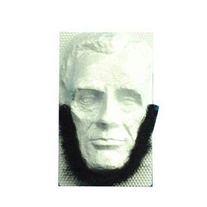 Self Adhesive Black Abraham Lincoln Beard Facial Hair Disguise