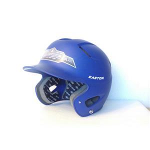 Easton A168033RY Natural Grip Junior Batting Helmet, Royal