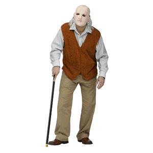 Fun World Men's Bad Grandpa Old Man Geezer Adult Costume