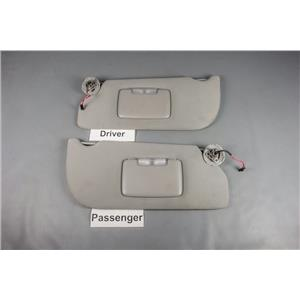 05-07 Relay Uplander Terraza Sun Visor Set with Lighted Mirrors Adjustable Arms