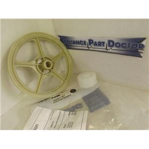 MAYTAG WHIRLPOOL WASHER 12001797 PULLEY & DUST CAP KIT NEW