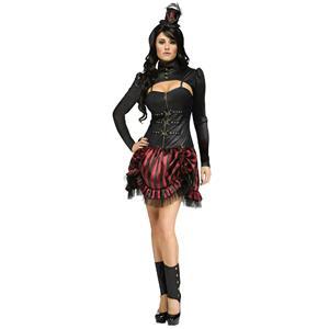 Fun World Women's Gothic Steampunk Sally Victorian Adult Costume Size M/L 10-14