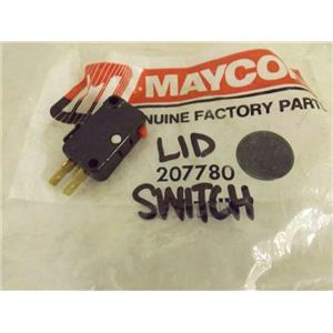 MAYCOR WHIRLPOOL WASHER 207780 LID SWITCH NEW