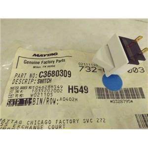 MAYTAG WHIRLPOOL REFRIGERATOR C3680309 SWITCH NEW