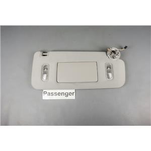 2008-2013 Cadillac CTS Passenger Side Sun Visor w/ Lighted Mirror & Adjust Bar