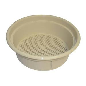 "Keene Engineering Economy Stackable Classifying Sieve Tan 1/4"" Made in USA"