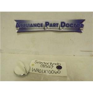 GENERAL ELECTRIC WASHER WH01X10060 SELECTOR KNOB (BSQ) NEW
