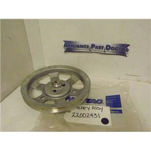 MAYTAG WHIRLPOOL WASHER 22002431 PULLEY ASSY NEW