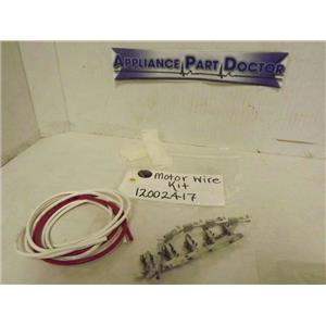 MAYTAG WHIRLPOOL WASHER 12002417 MOTOR WIRE KIT NEW