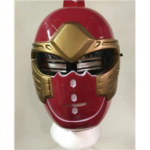 Disguise 2003 Red Power Ranger Ninja Storm Plastic Child Costume Play Mask