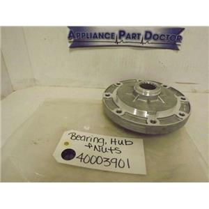 SPEED QUEEN WHIRLPOOL WASHER 40003901 BEARING, HUB & NUTS NEW