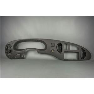 99-08 E250 E350 Econoline Surround Dash Trim Bezel w/ Vents & Aftermarket Light