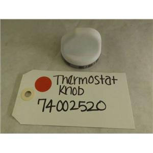 MAYTAG WHIRLPOOL STOVE 74002520 THERMOSTAT KNOB (WHITE) NEW