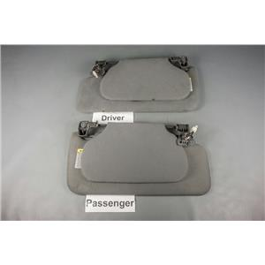 1997-2004 Nissan Pathfinder QX4 Sun Visor Set with Homelink and Lighted Mirrors