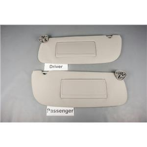 1994-2001 Dodge RAM 1500 2500 3500 Sun Visor Set with Covered Unlighted  Mirrors . ekusparts 7b6bffadf03